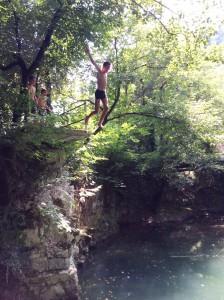 Nicolas saute